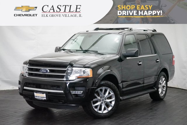 2017 Ford Expedition Limited 4x4 BLACK Auxiliary Audio Input