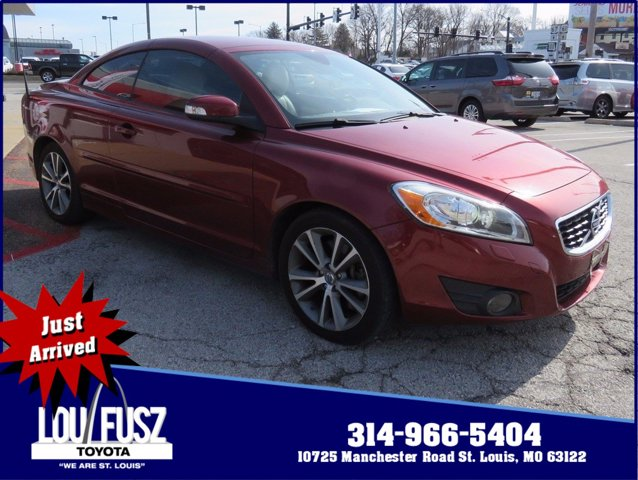 2011 Volvo C70 2dr Conv Auto FLAMENCO RED METALLIC