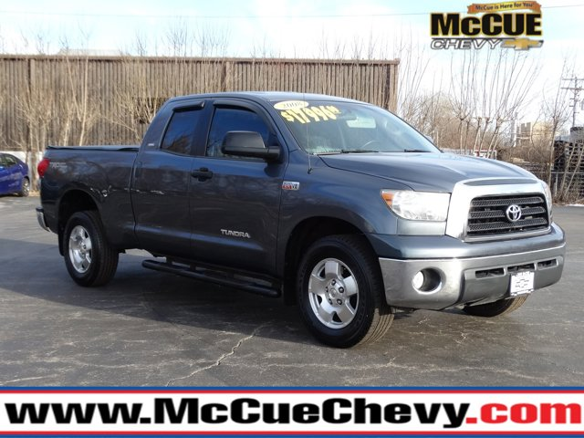 2008 Toyota Tundra 4WD Truck GRAY Driver Air Bag Cruise Control