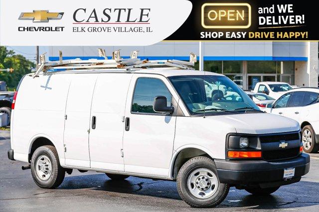 """2014 Chevrolet Express Cargo Van RWD 3500 135"""" SUMMIT WHITE"""