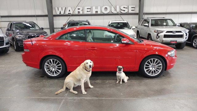 2008 Volvo C70 2dr Conv Auto PASSION RED CD Player CD Changer
