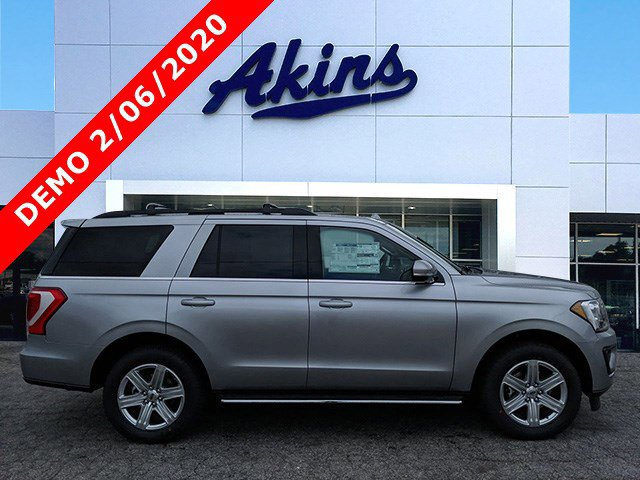 2020 Ford Expedition XLT 4x2 Iconic Silver Metallic