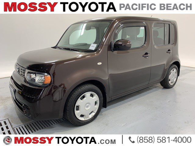 2012 Nissan cube 5dr Wgn I4 CVT 1.8 S BITTER CHOCOLATE PEARL