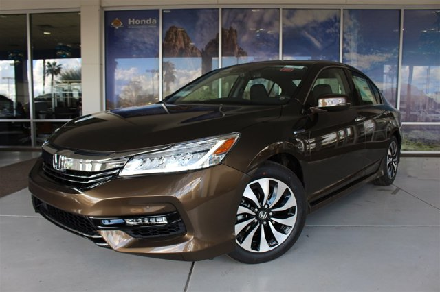 2017 Honda Accord Hybrid TOURING SEDAN Mandarin Gold M