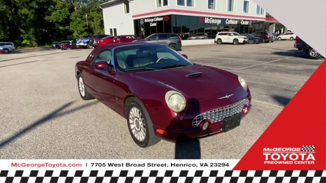 2004 Ford Thunderbird MAROON Cruise Control Convertible Soft To