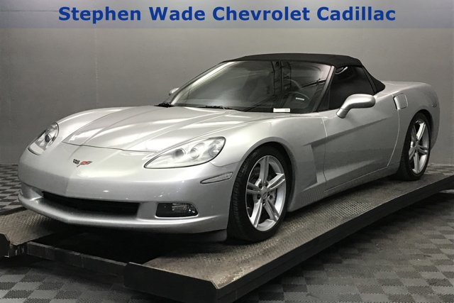 2010 Chevrolet Corvette 2dr Conv w/1LT BLADE SILVER METALLIC