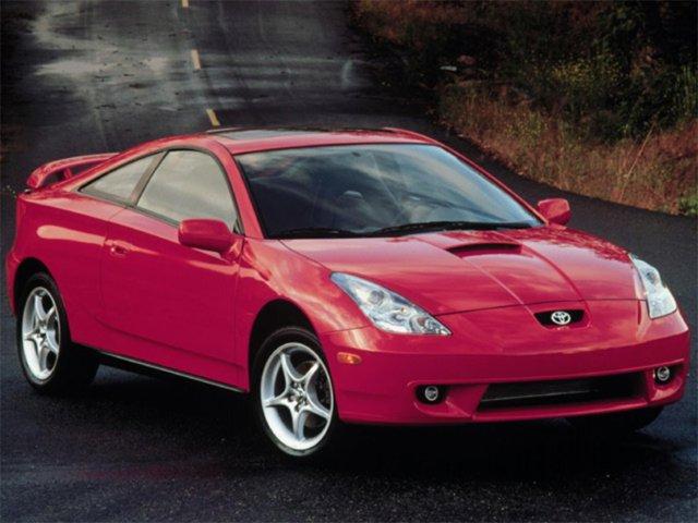 2001 Toyota Celica 3dr LB GT Auto SILVER Automatic Headlights