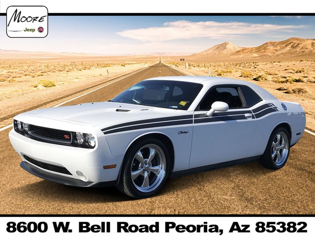 2013 Dodge Challenger 2dr Cpe R/T Classic BRIGHT WHITE