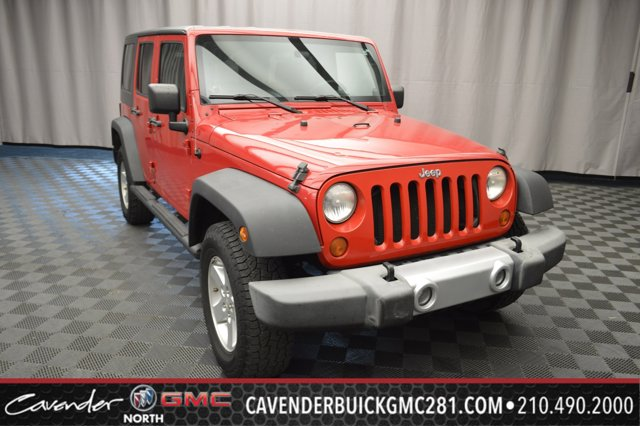 2007 Jeep Wrangler 4WD 4dr Unlimited X Conventional Spare Tire