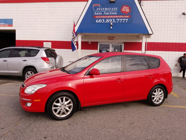 2009 Hyundai Elantra 4dr Wgn Auto Touring CHILIPEPPER RED