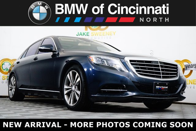 2015 Mercedes-Benz S-Class 4dr Sdn S550 4MATIC Anthracite Blue