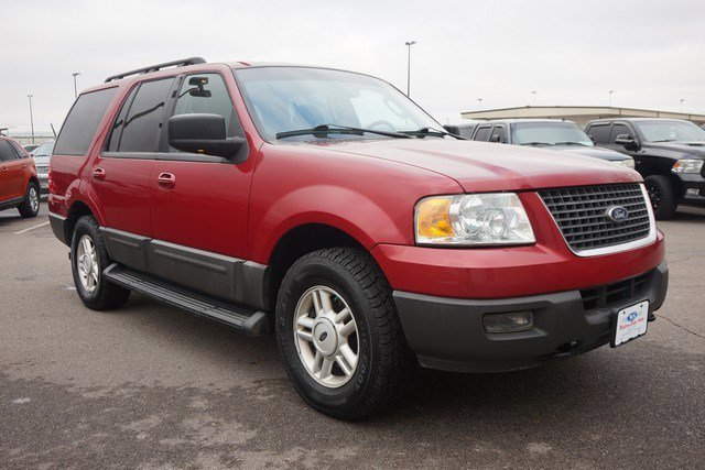 2005 Ford Expedition 5.4L XLT 4WD RED CD Player Cassette