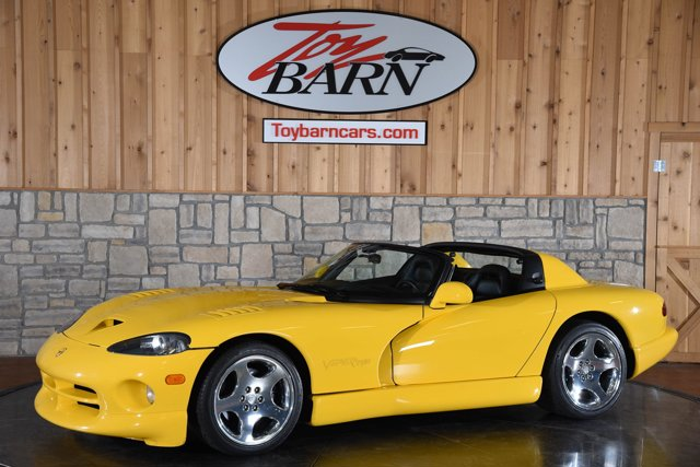 2001 Dodge Viper 2dr RT/10 Convertible YELLOW