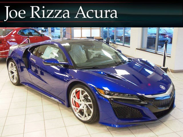 2017 Acura NSX COUPE Nouvelle Blue Pearl Back-Up Camera