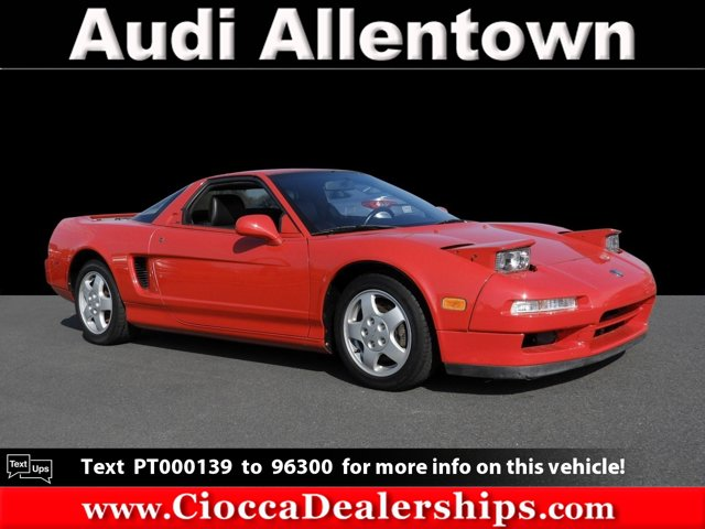 1993 Acura NSX 2dr Sport Coupe 5-Spd FORMULA RED