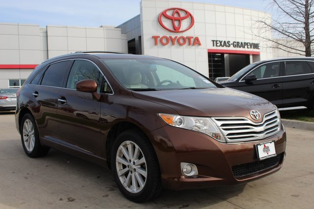 2012 Toyota Venza BROWN Brake Assist Auxiliary Audio Input