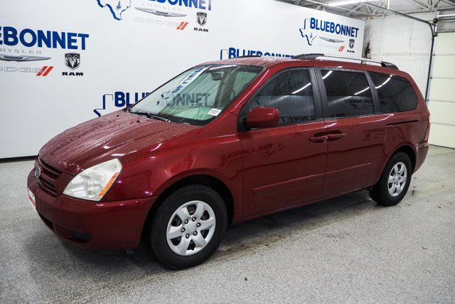 2009 Kia Sedona 4dr LWB LX CLARET RED CD Player Bucket Seats