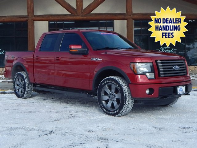 2012 Ford F-150 RUBY RED CD Player Bucket Seats