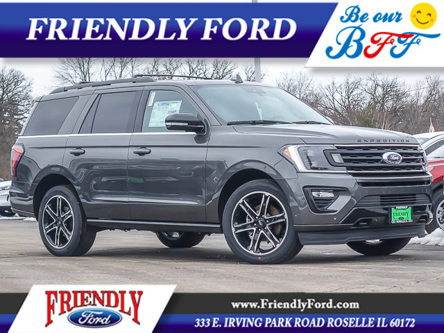2020 Ford Expedition Limited 4x4 Magnetic Metallic
