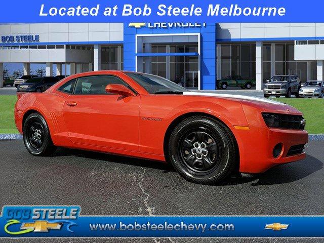 2013 Chevrolet Camaro 2dr Cpe LS w/2LS INFERNO ORANGE METALLIC