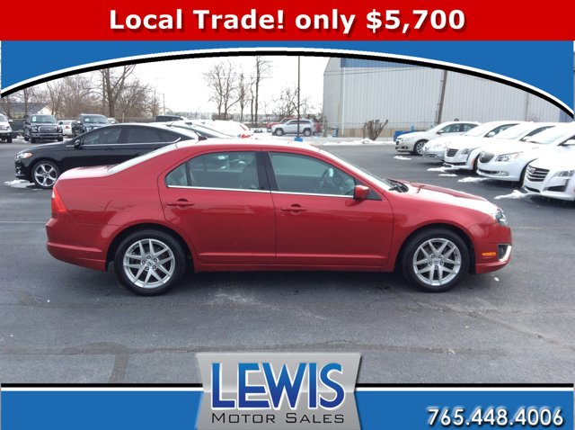 2011 Ford Fusion 4dr Sdn SEL FWD RED CANDY METALLIC TINTED