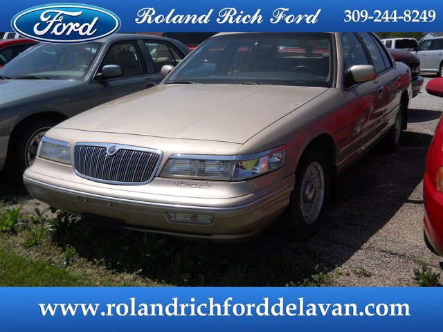 1996 Mercury Grand Marquis 4dr Sdn LS LIGHT SADDLE (CC/MET)