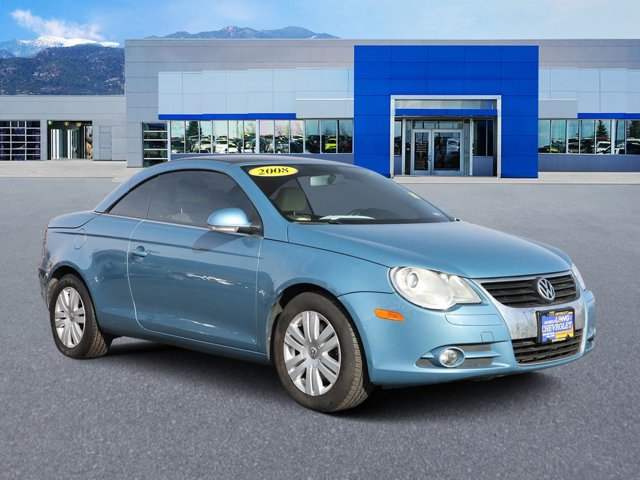 2008 Volkswagen Eos THUNDER BLUE Driver Air Bag