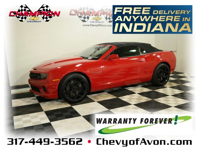 2011 Chevrolet Camaro 2dr Conv 2SS VICTORY RED