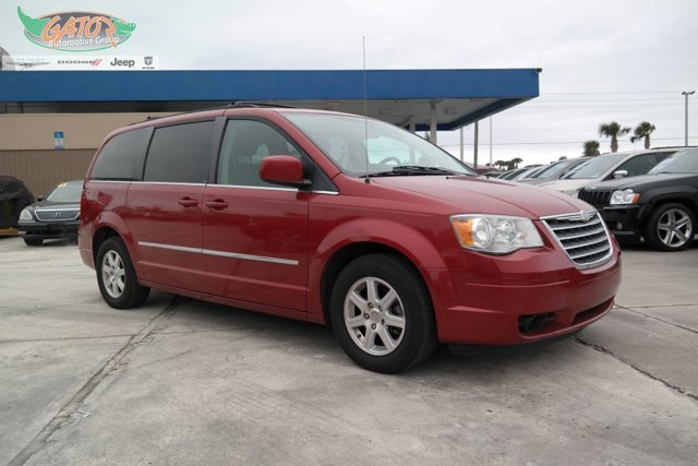 2010 Chrysler Town & Country 4dr Wgn Touring INFERNO RED CRYSTA