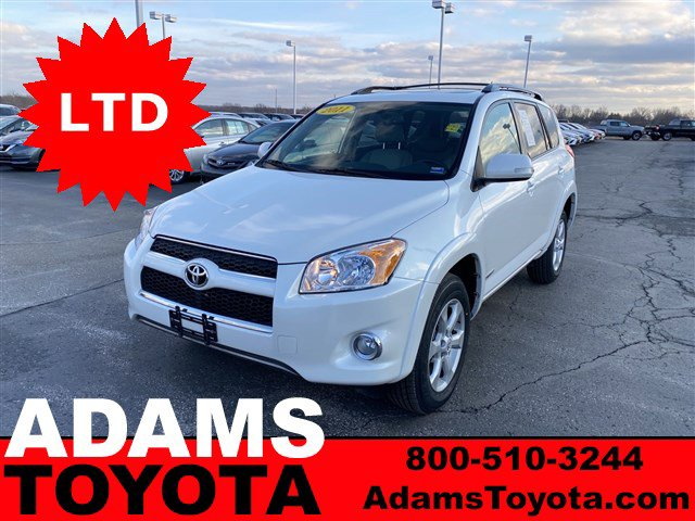 2011 Toyota RAV4 FWD 4dr 4-cyl 4-Spd AT Ltd BLIZZARD PEARL