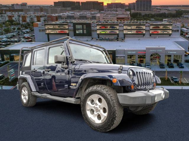 2013 Jeep Wrangler Unlimited 4WD 4dr Sahara True Blue Pearl