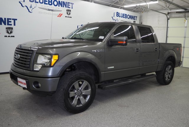 "2011 Ford F-150 4WD SuperCrew 145"" FX4 STERLING GRAY METALLIC"