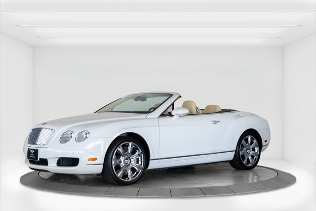 2007 Bentley Continental GT 2dr Conv GLACIER WHITE
