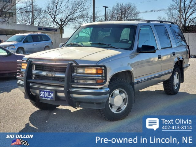 1998 Chevrolet Tahoe 1500 4dr 4WD LIGHT PEWTER (MET)