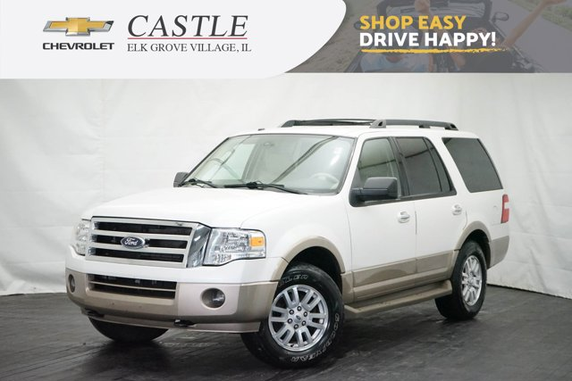 2014 Ford Expedition 4WD 4dr XLT WHITE Auxiliary Audio Input