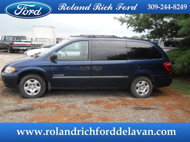 "2001 Dodge Caravan 4dr Grand SE 119"" WB PATRIOT BLUE PEARL"