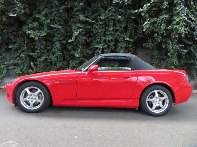 2001 Honda S2000 2dr Conv NEW FORMULA RED