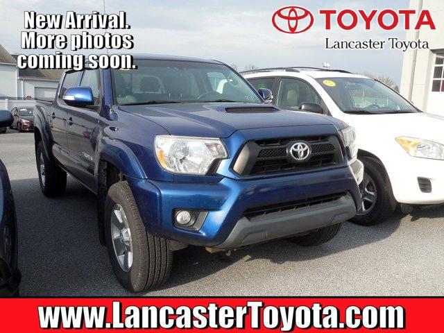 2014 Toyota Tacoma 4WD Double Cab V6 AT BLUE