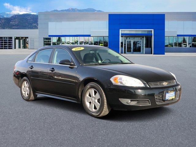 2011 Chevrolet Impala 4dr Sdn LT Fleet BLACK CD Player