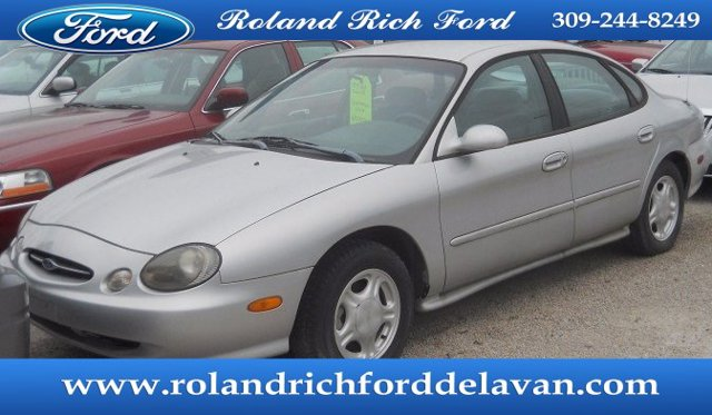 1998 Ford Taurus 4dr Sdn SE SILVER FROST (CC/MET)