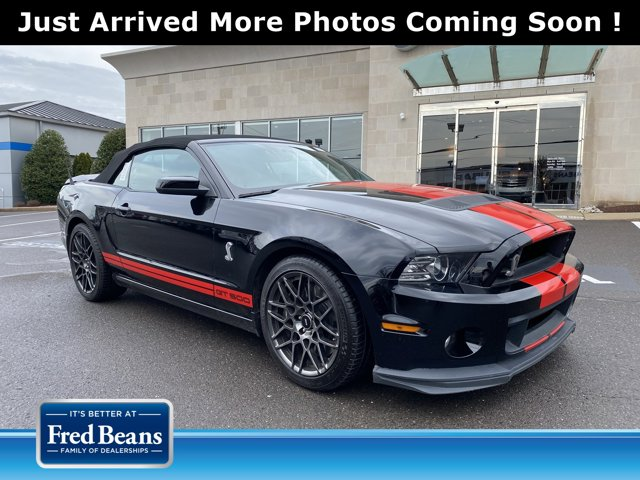 2013 Ford Mustang 2dr Conv Shelby GT500 BLACK