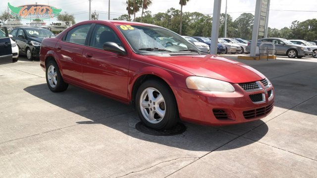 2005 Dodge Stratus Sdn 4dr SXT INFERNO RED CRYSTAL PEARL