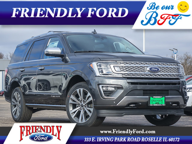 2020 Ford Expedition PLATINUM 4X4 Magnetic Metallic