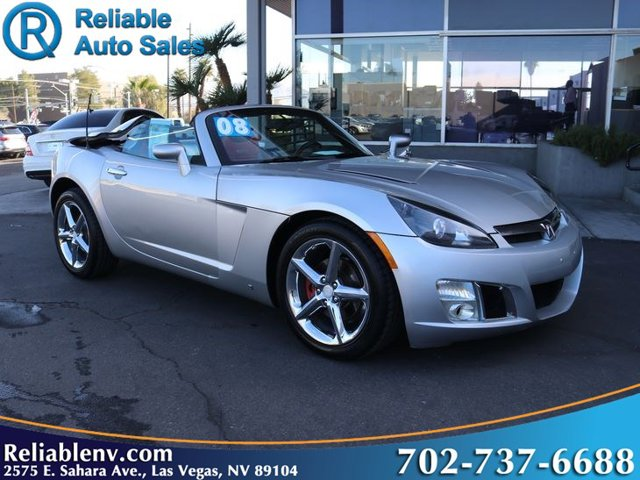 2008 Saturn Sky 2dr Conv Red Line SILVER PEARL