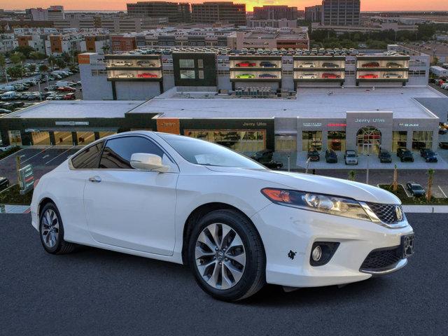 2013 Honda Accord Cpe 2dr I4 Auto EX White Orchid Pearl
