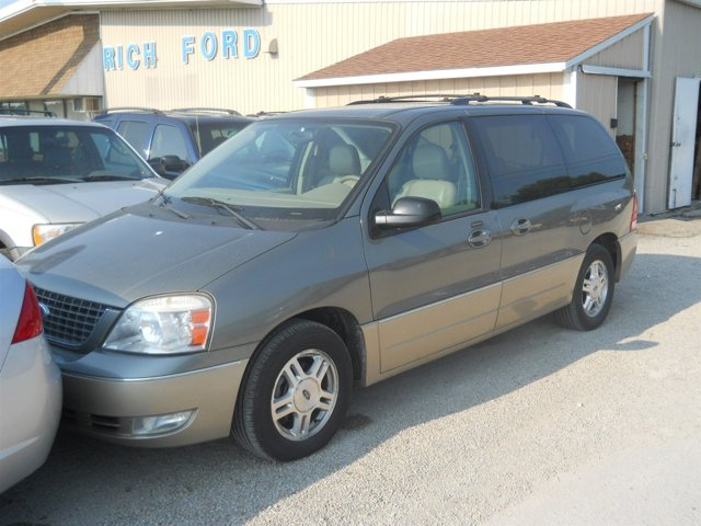 2005 Ford Freestar Wagon 4dr Limited SPRUCE GREEN METALLIC