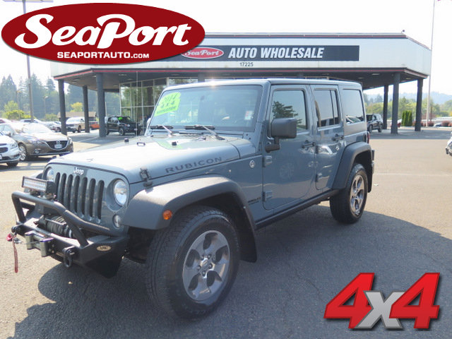 2014 Jeep Wrangler Unlimited 4WD 4dr Rubicon SILVER
