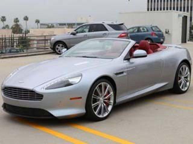 2013 Aston Martin DB9 Skyfall Silver