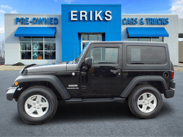 2014 Jeep Wrangler 4WD 2dr Sport BLACK CLEARCOAT