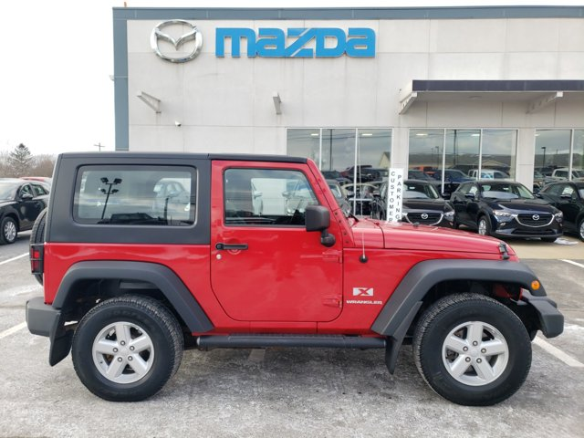 2008 Jeep Wrangler 4WD 2dr X FLAME RED